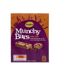 Choc Chip Munchy Bars