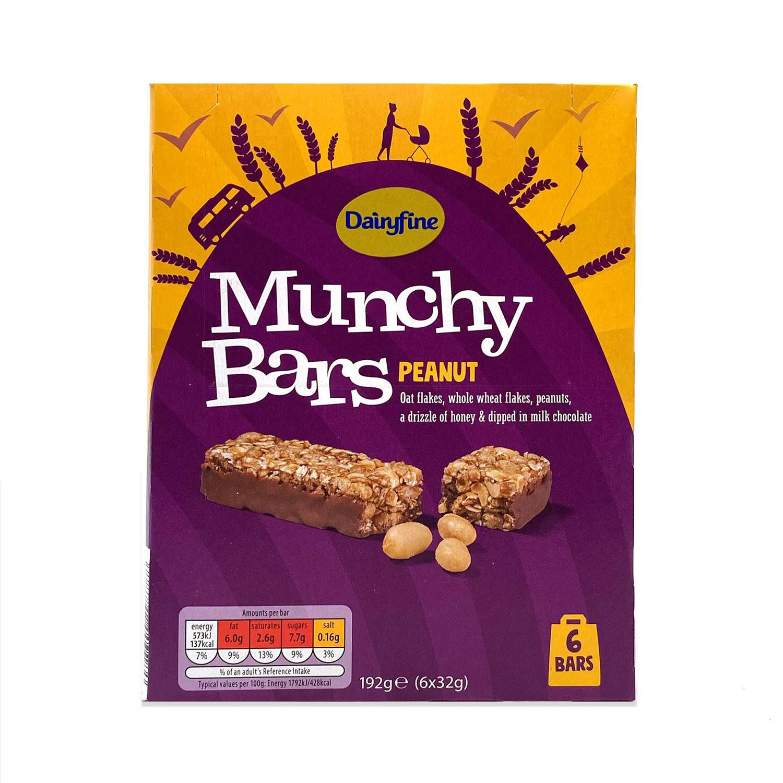 Munchy Bars Peanut