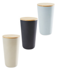 Tall Bamboo Canister