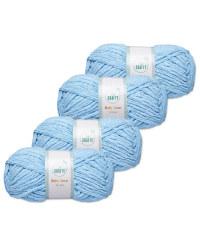 So Crafty Sky Blue Baby Yarn