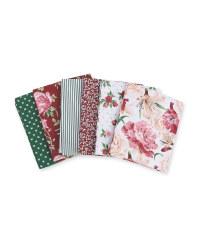 Floral Retreat Fabric Fat Quarters