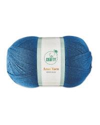 So Crafty Petrol Blue Aran Yarn
