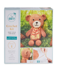 Bear Crochet Kit