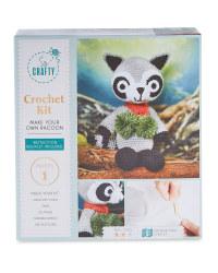 Racoon Crochet Kit