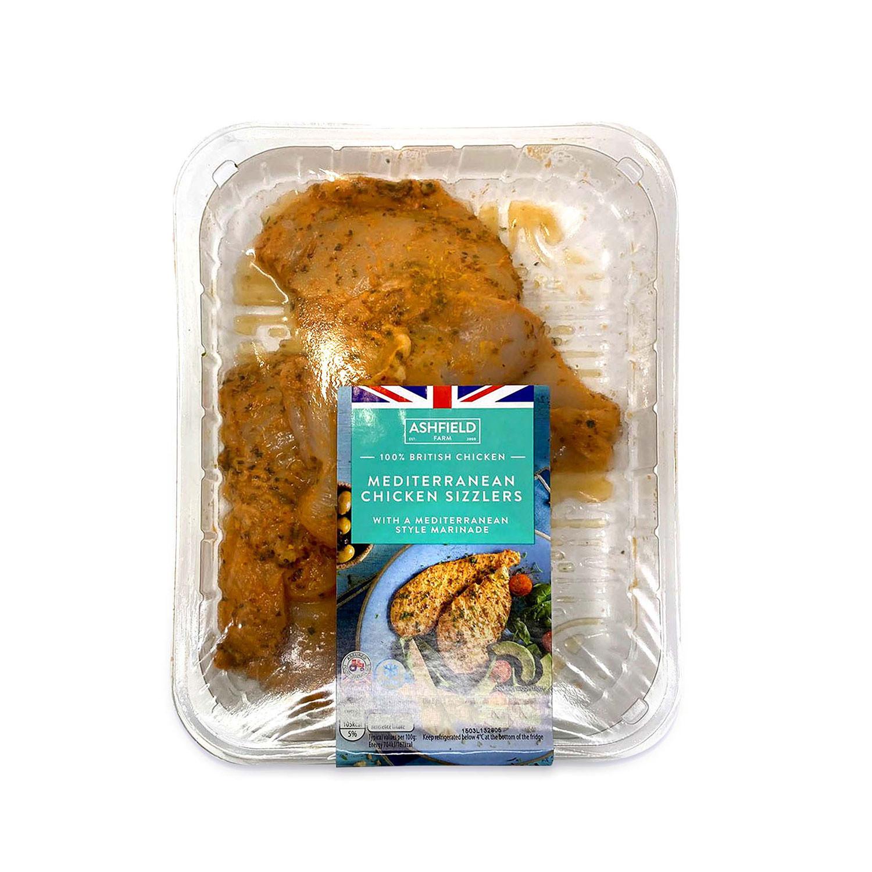 Mediterranean Chicken Sizzlers