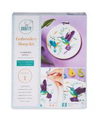 So Crafty 3D Embroidery Birds Kit