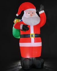 6ft Inflatable Santa