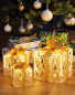 Perfect Christmas LED Gold Parcels