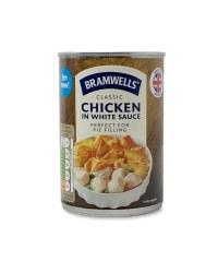 Classic Chicken In White Sauce