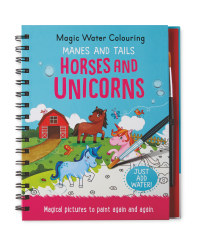 Unicorn Magic Water Colouring Book