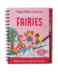 Fairies Magic Water Colouring Book