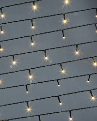 Dark Cable Warm 50 LED Light Chain