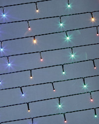 Dark Cable Multi 50 LED Light Chain