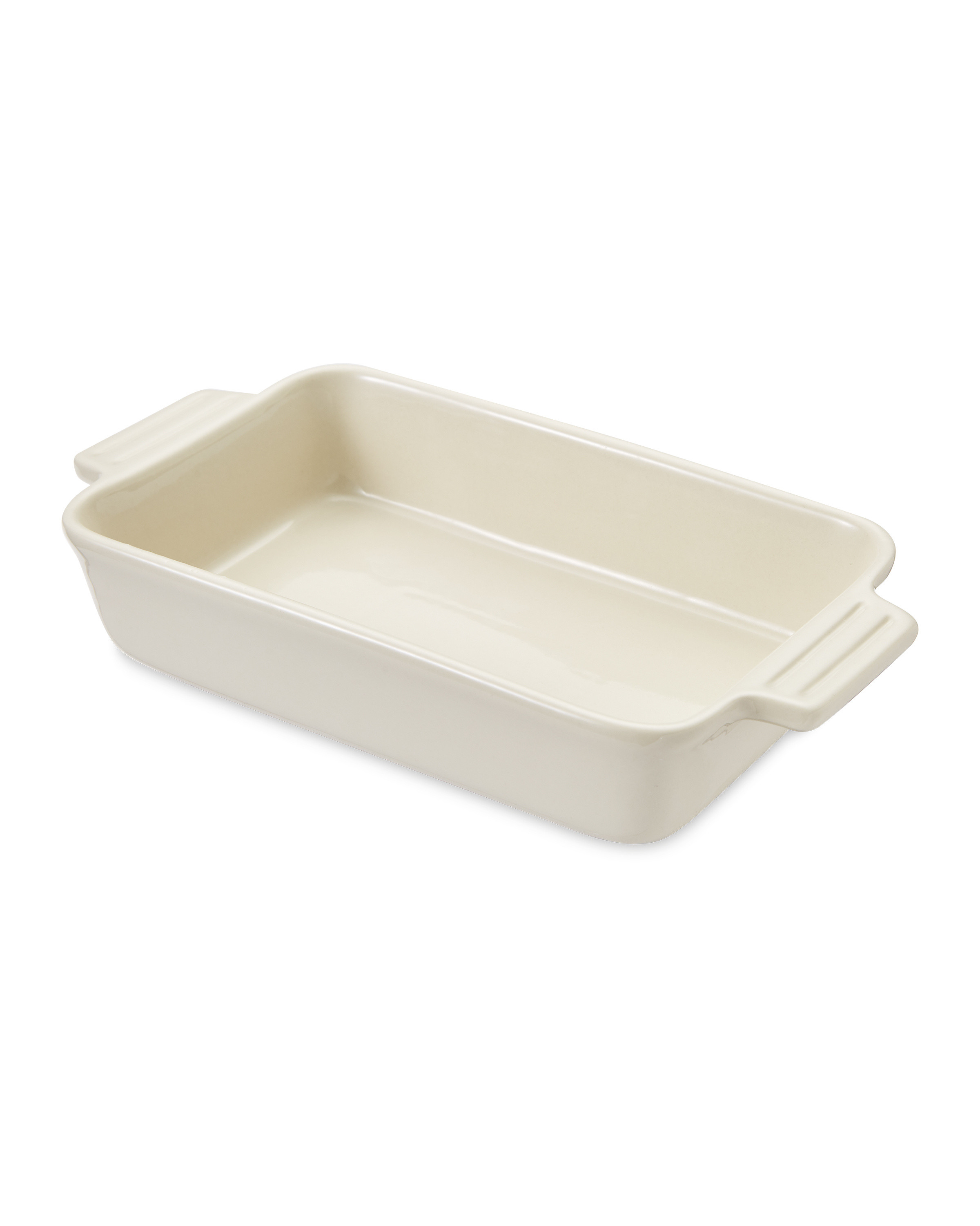 Cream Large Rectangle Oven/Tableware