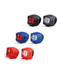 Front And Rear Silicone Bike Lights