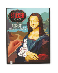 Fine Art Mosaic Sticker Book