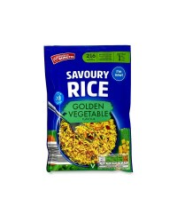 Savoury Rice - Golden Vegetable