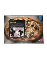 Ham & Portobello Mushroom Pizza
