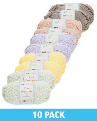 Neutral Double Knit Yarn 10 Pack