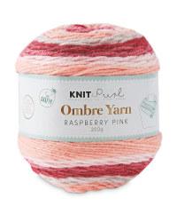 So Crafty Raspberry Rainbow Yarn