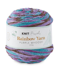 So Crafty Whoosh Rainbow Yarn