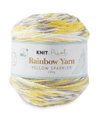 So Crafty Sparkler Rainbow Yarn