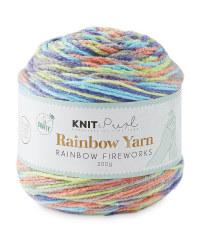 So Crafty Fireworks Rainbow Yarn