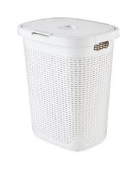 Addis Plastic Laundry Hamper - Grey