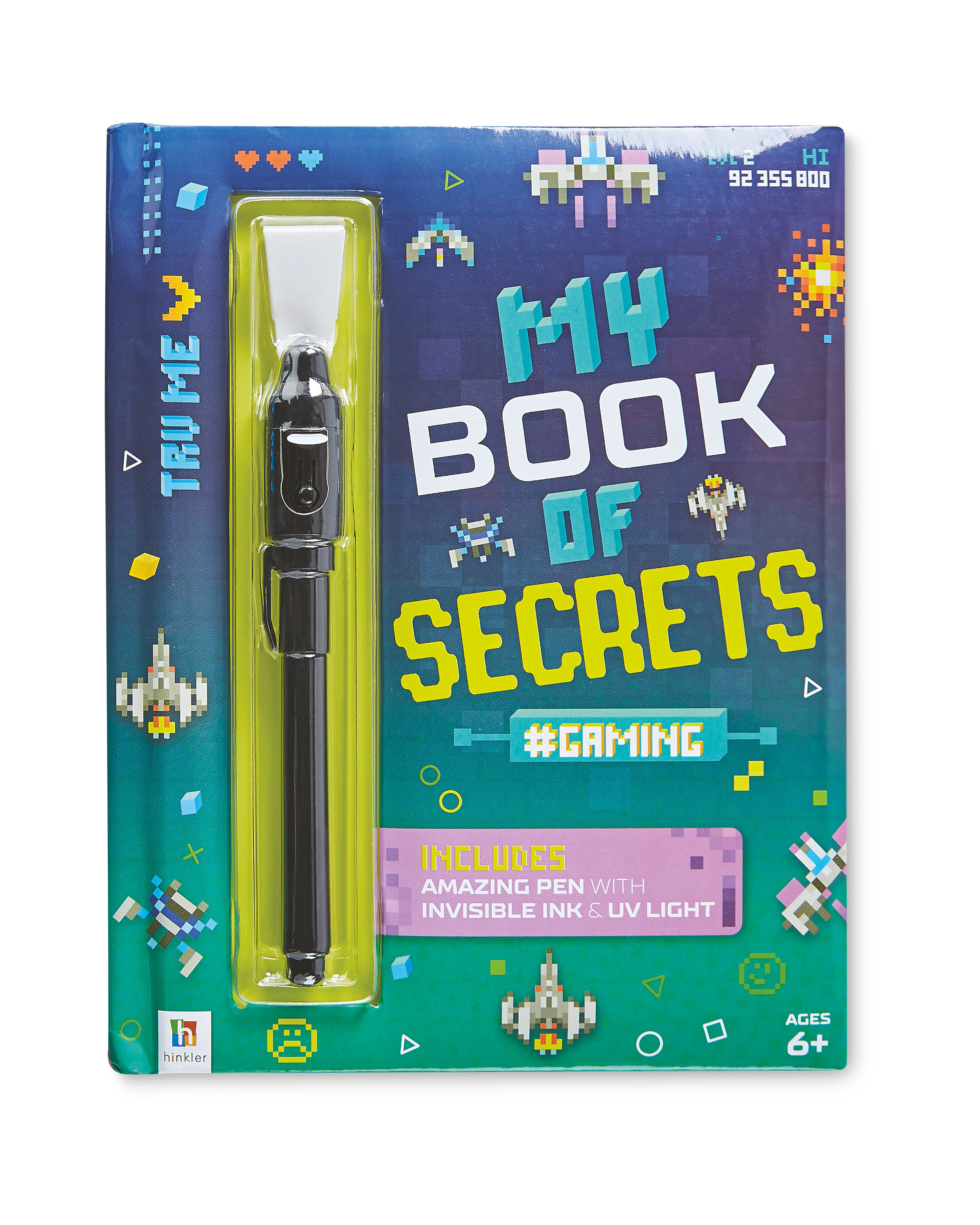 Gaming Secret Diary & Invisible Pen