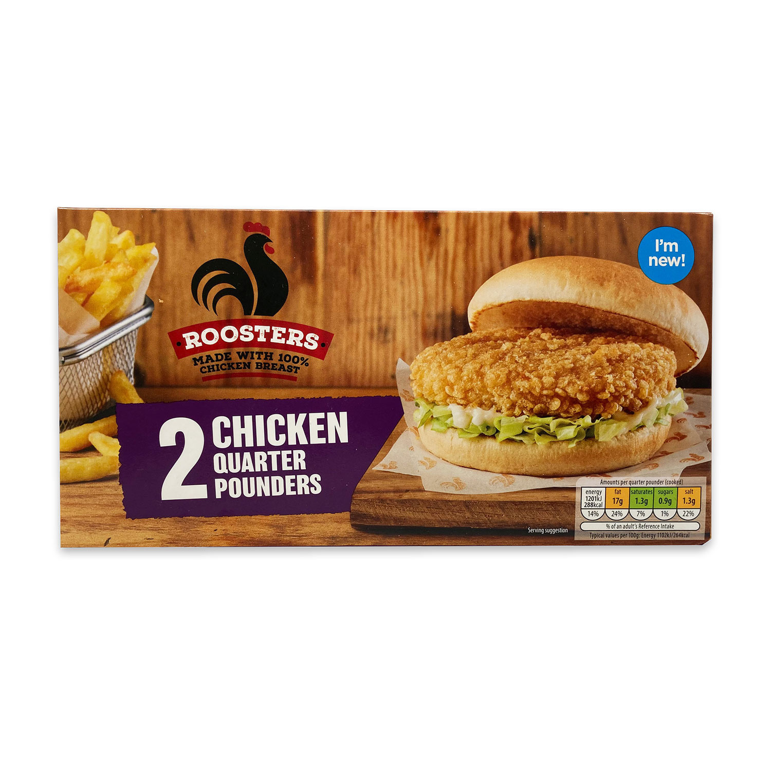 2 Chicken Quarter Pounders