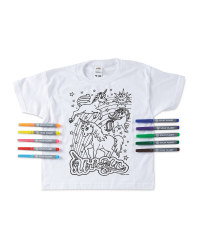 Unicorn Colour-In  T-Shirt