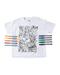 Mermaid Colour-In  T-Shirt