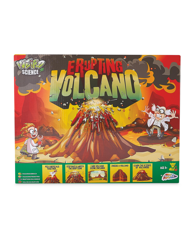 Erupting Volcano Weird Science Kit