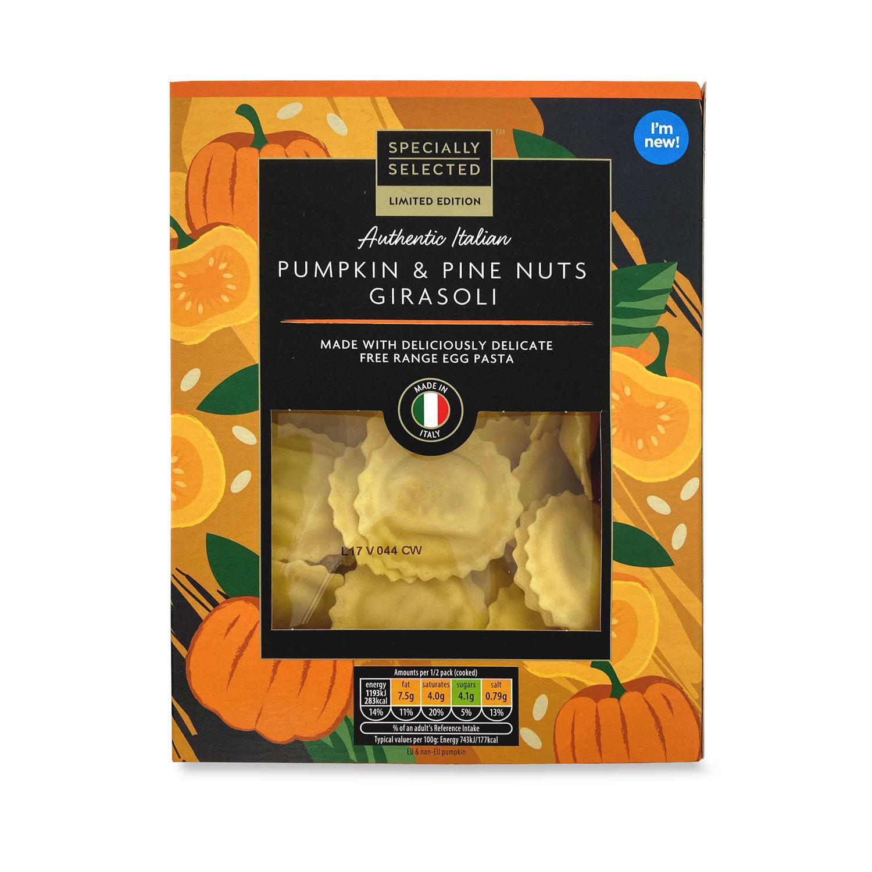 Pumpkin and Pine Nuts Girasoli