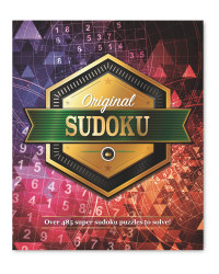 Original Sudoku Puzzle Book