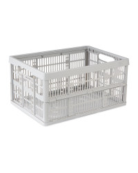 Kirkton House Grey Folding Crate