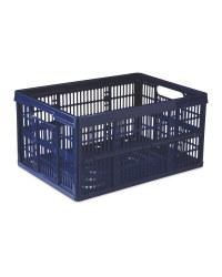 Kirkton House Blue Folding Crate