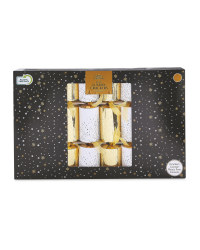Gold Luxury Crackers 8 Pack