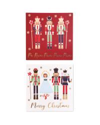 Nutcracker Christmas Cards 20 Pack