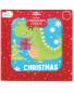 Dinosaur Mini Christmas Card 30 Pack