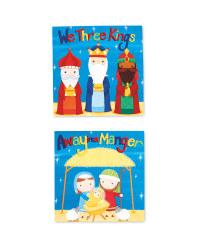 Nativity Mini Christmas Card 30 Pack
