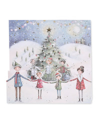 Forest Luxury Christmas Cards 6 Pack