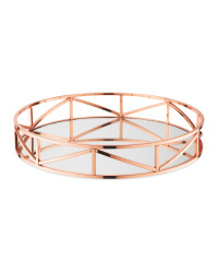 Kirkton House Rose Gold Drinks Tray