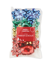 Forest Ribbon/Bow 33 Pack