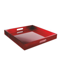 Kirkton House Red Lacquer Tray
