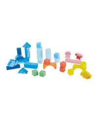 Wooden Sealife Building Blocks Toy
