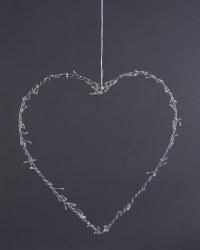 Heart LED Hanging Decoration