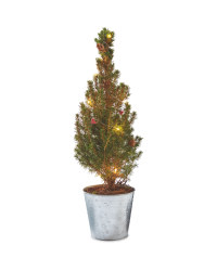 Picea Tree With Lights 15cm