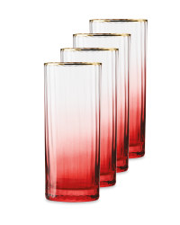 Crystalline Pink Hi-Ball 4 Pack