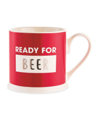 Ready For Beer Christmas Mug